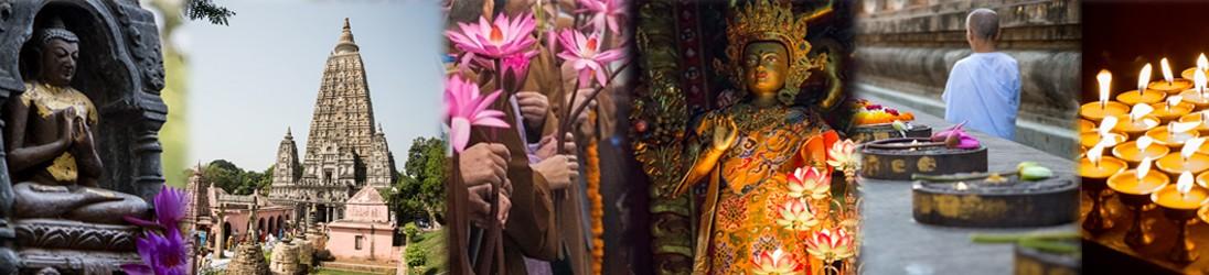 Enthusiastic Buddhist Pilgrimages
